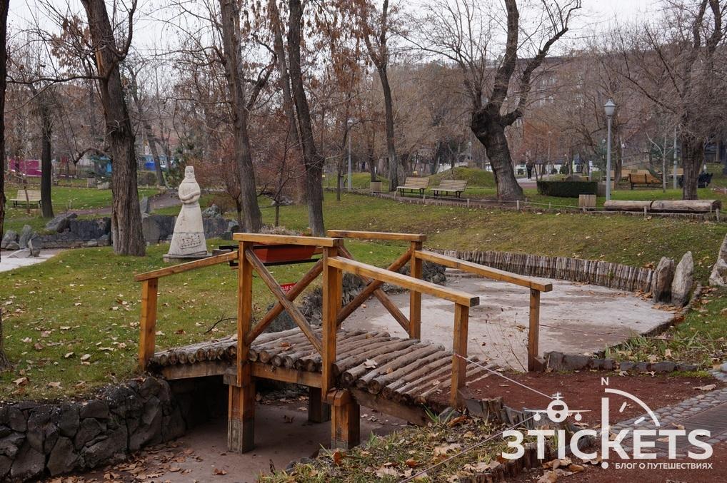Погода в Ереване осенью