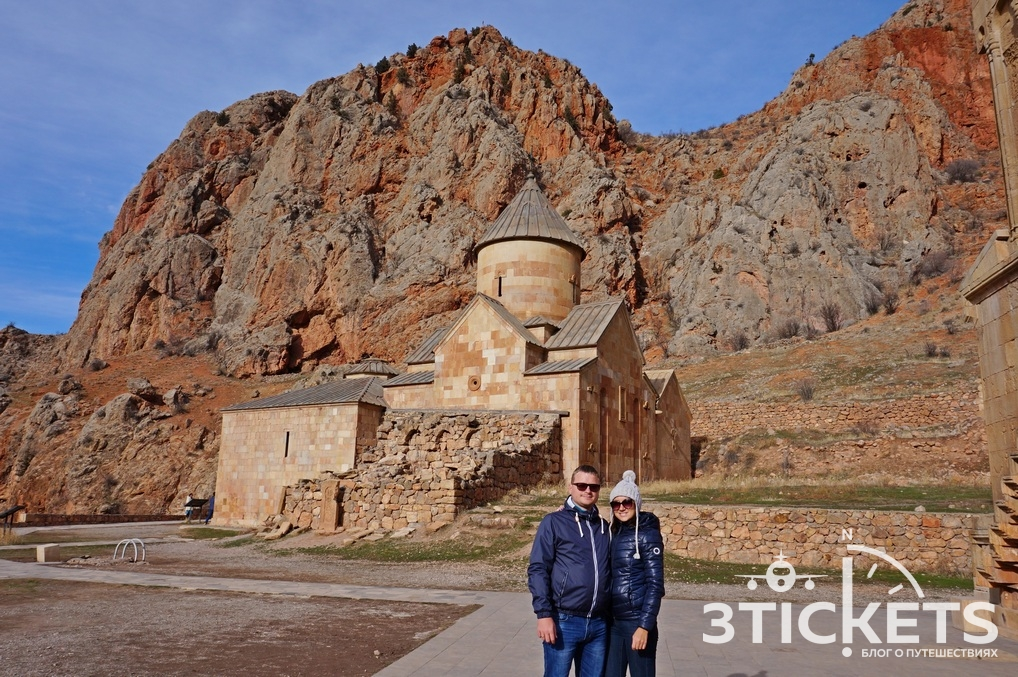 Монастырь Нораванк в Армении, Ереван зимой