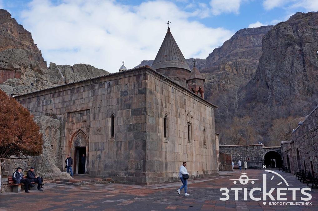 Пещерный монастырь Гегард вАрмении