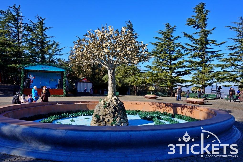 Бомбора парк в Тбилиси