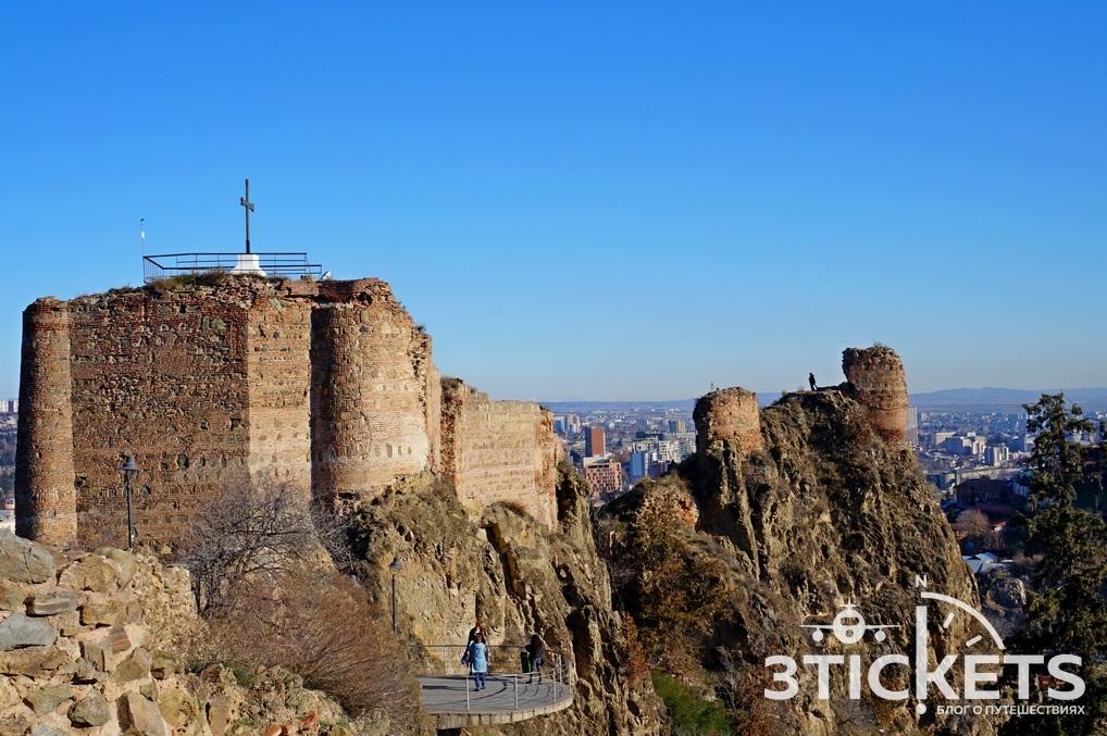 Крепость Нарикала в Тбилисси