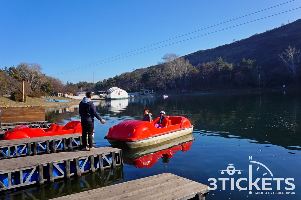 Парк Ваке иЧерепашье озеро в Тбилиси