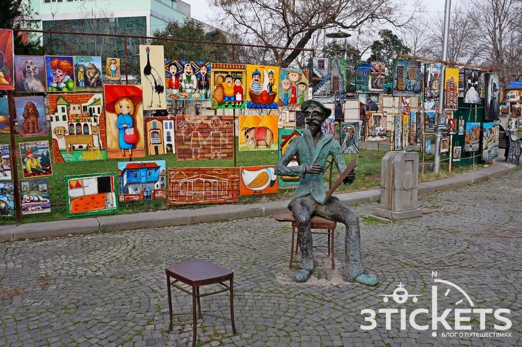 Что привезти из Грузии: картины грузинских художников