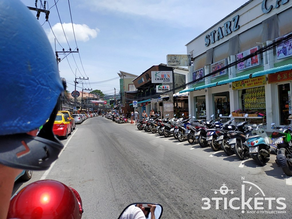 Motorbike for rent Samui