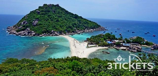 КоНанг Юань— самый красивый остров вТаиланде скораллами ирыбками для уединенного отдыха