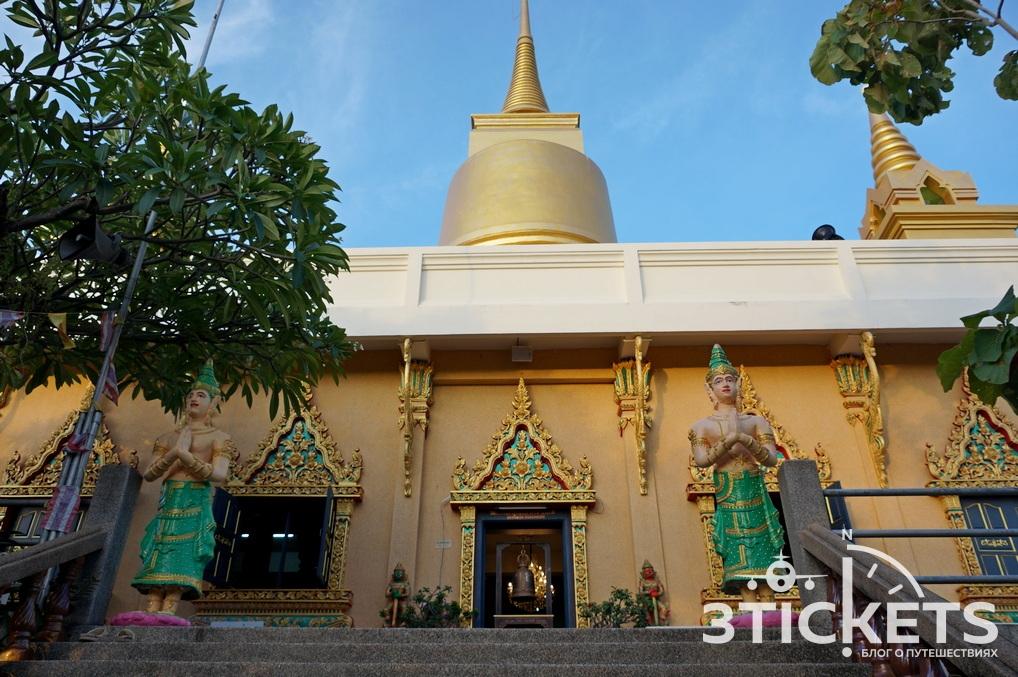 Пагода Khao Hua Jook свидом нааэропорт Самуи