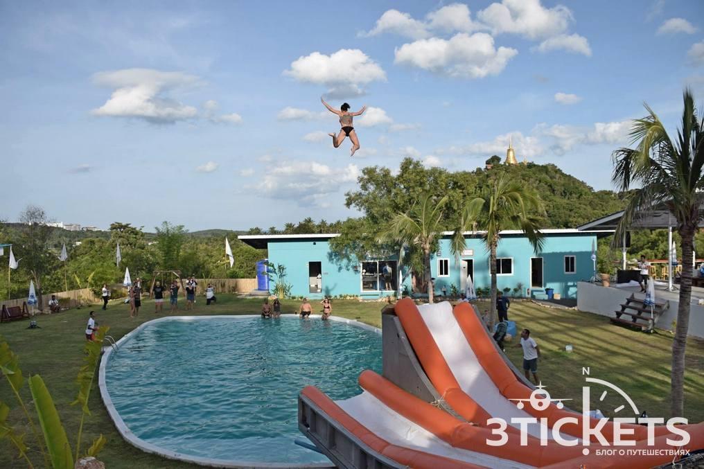 Высокие горки на Самуи: «High Park Samui» (Slide and Fly)