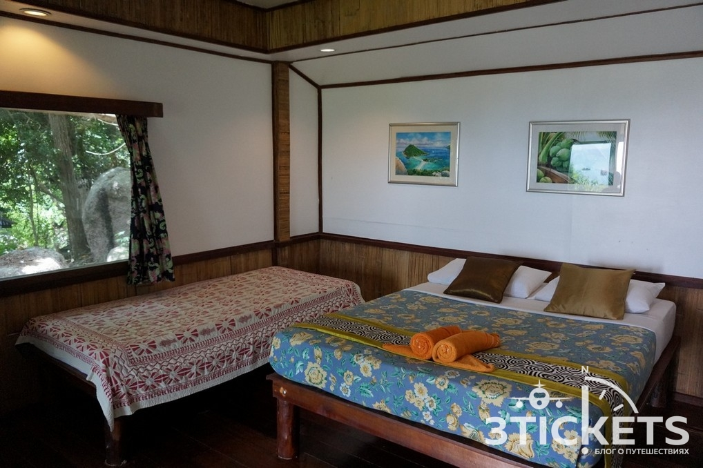 Отель на острове Ко Нанг Юань в Таиланде (Nangyuan Island Dive Resort): цены, фото и наш отзыв