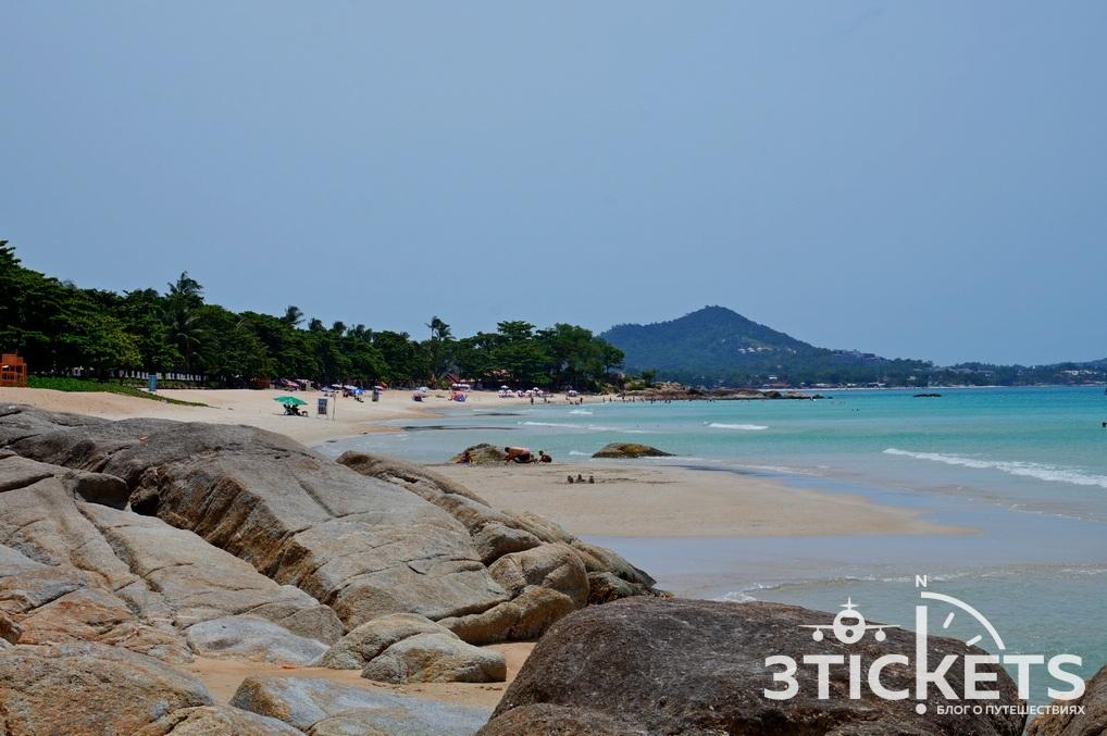Пляж Чавенг Ной на Самуи (Таиланд): фото и отзывы