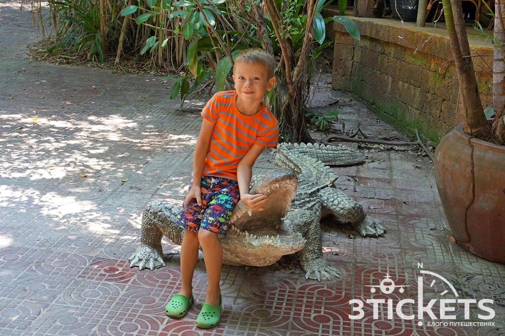 Ферма крокодилов на Самуи