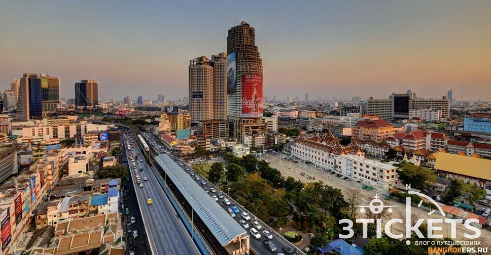 Башня Саторна в Бангкоке