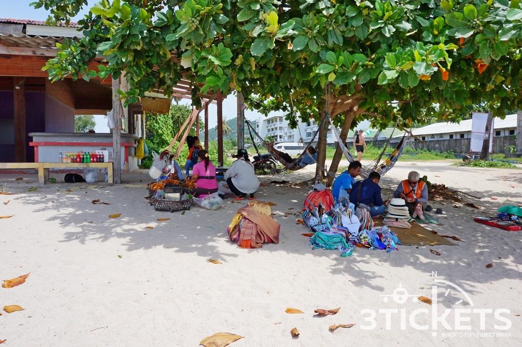 Пляж Чонг Мон(Choeng Mon) на острове Самуи, Таиланд