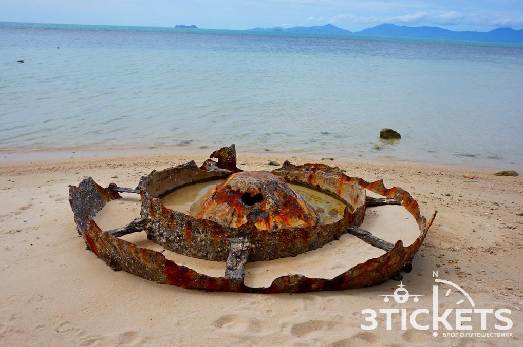 Пляж Бан Тай (Мимоза) на Самуи, Таиланд