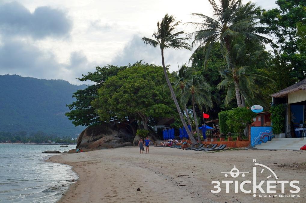 Пляж Тонгтокиан на Самуи (Таиланд)