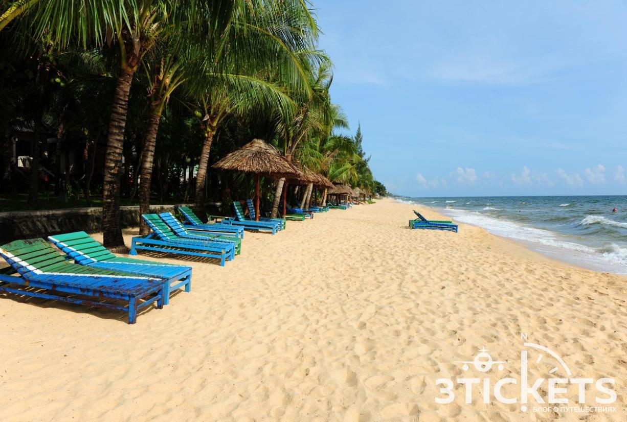 Пляж Лонг Бич на острове Фукуок во Вьетнаме