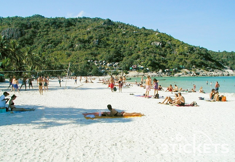 Пляж Хаад Рин на острове Панган, Таиланд