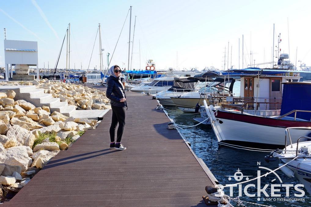 Достопримечательности Лимассола на Кипре: набережная Лимассола