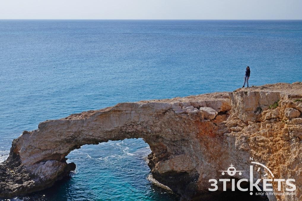 Достопримечательности Айя-Напы на Кипре: мост Любви