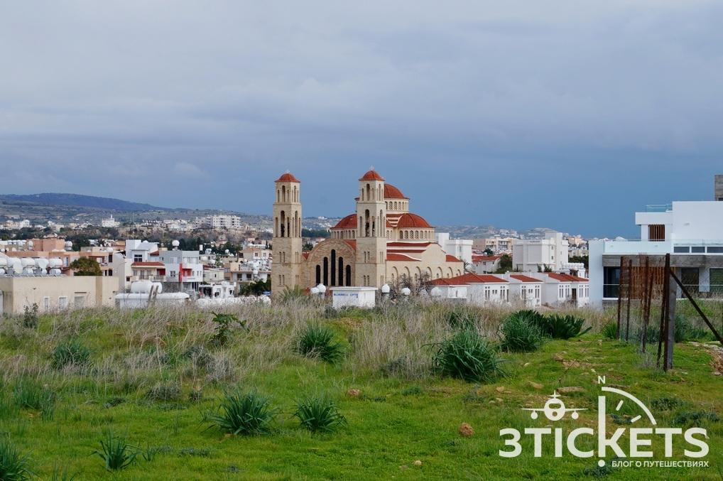 Церковь Святых бессеребренников (Agioi Anargyroi) в Пафосе