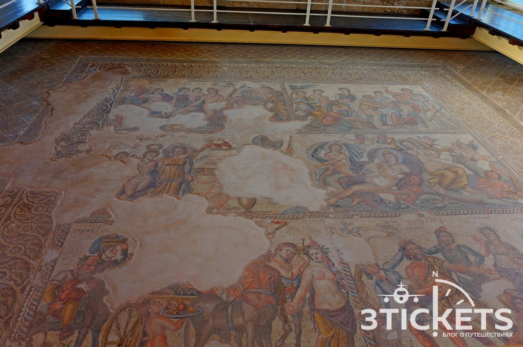 Археологический парк Като: достопримечательности Пафоса