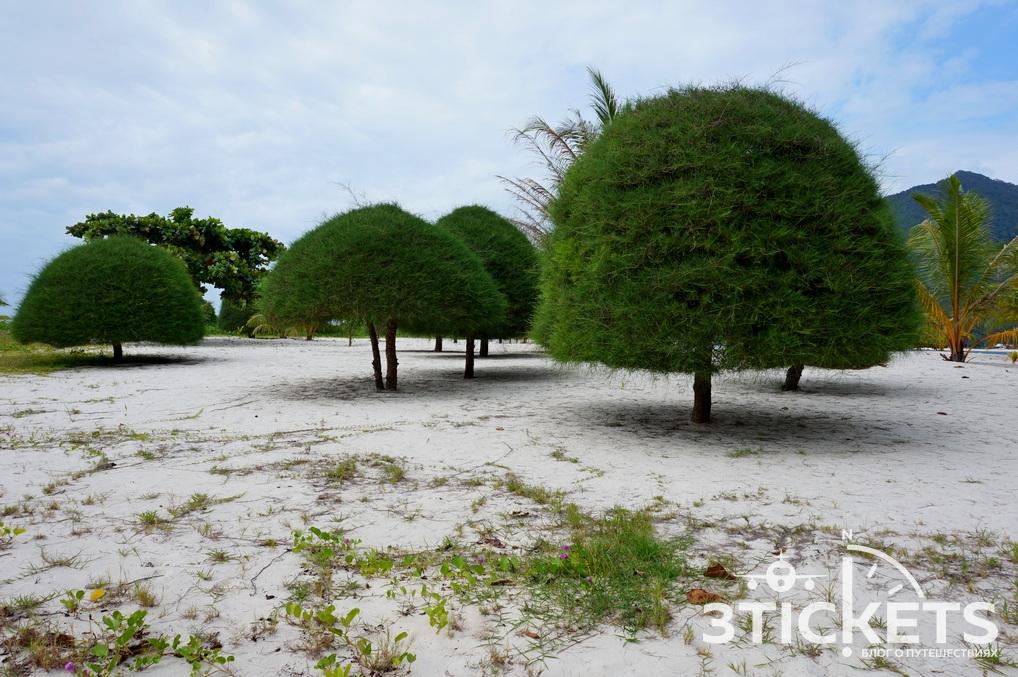Пляж Малибу на острове Панган (Таиланд)