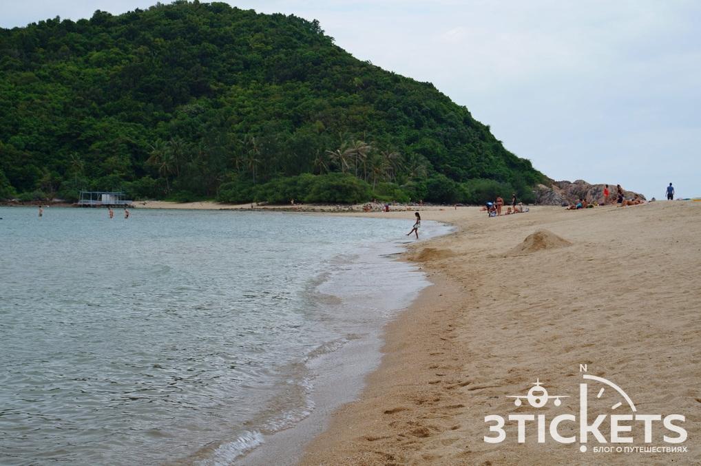 Пляж Мае Хаад и коса Ко Ма на острове Панган