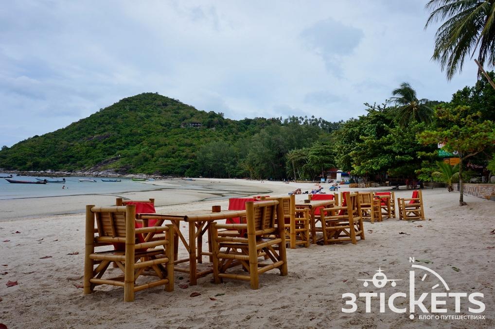 Пляж AoThong Nai Pan Yai Beach на Пангане