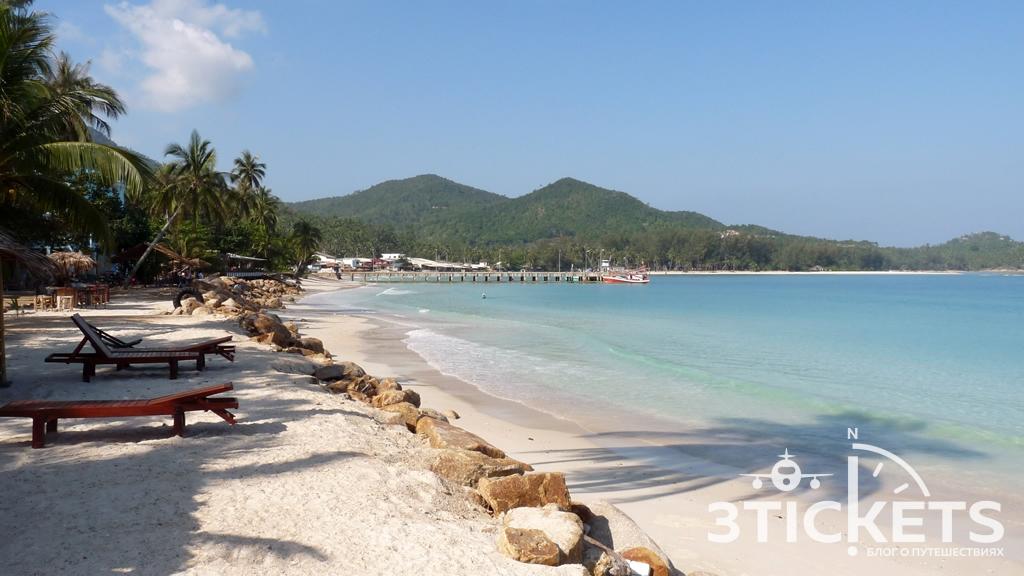 Пляж Чалоклам (Chaloklum Beach) на острове Панган