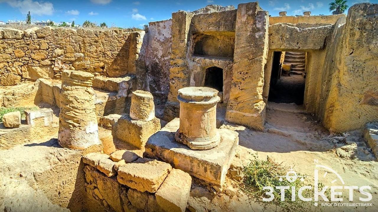 Царские гробницы: достопримечательности Пафоса