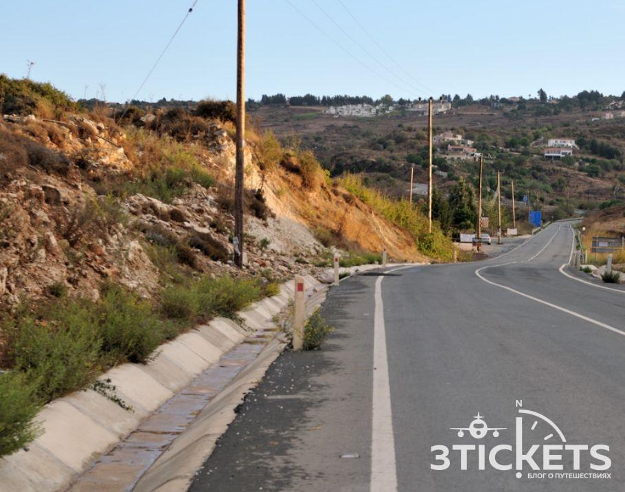 Аномальная зона Кипра в Пафосе