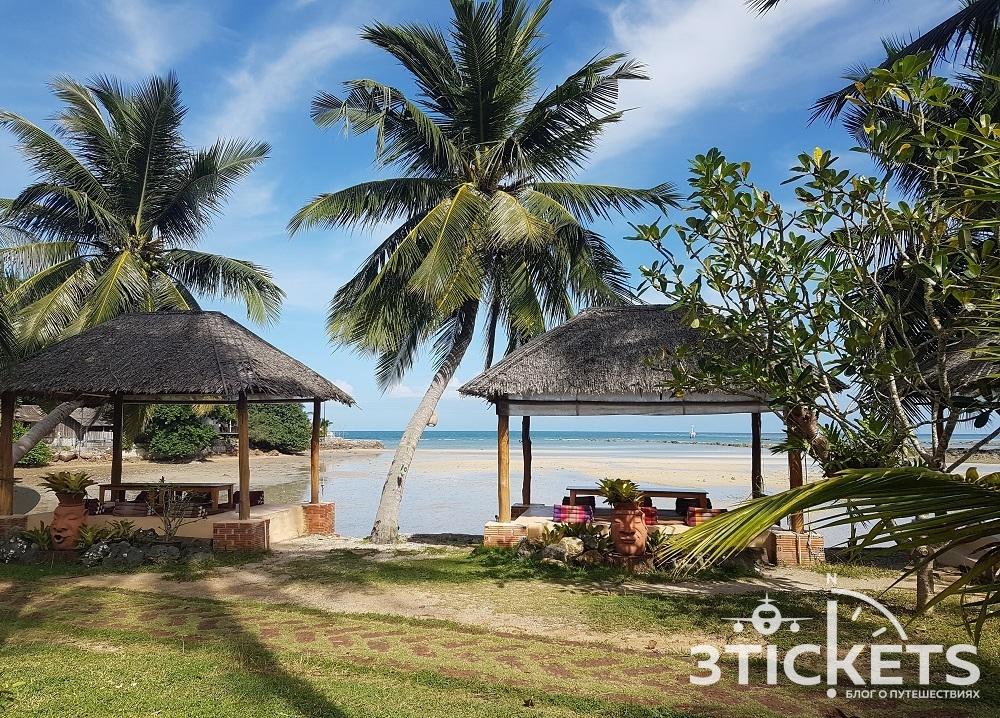 Пляж Шритану (Sri Thanu Beach) на Пангане