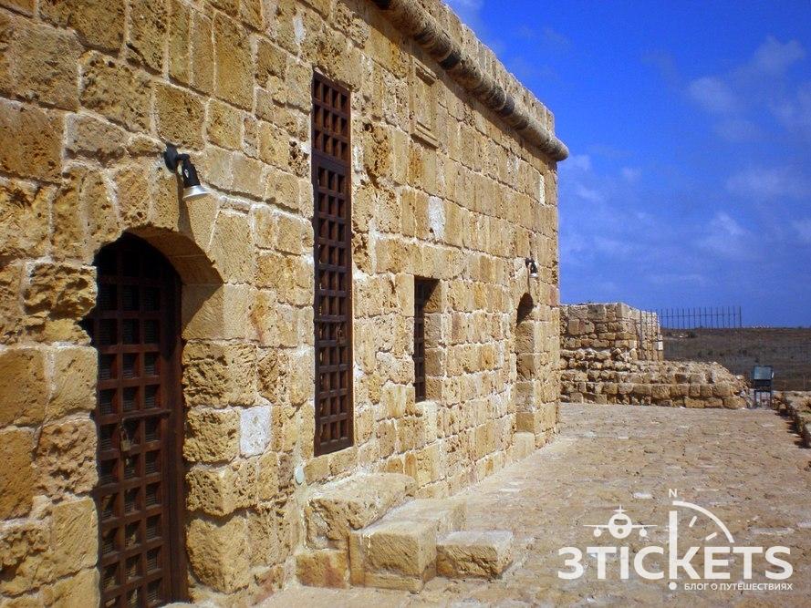 Достопримечательности Кипра в Пафосе: Пафосский замок