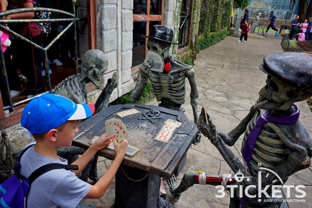 Парк «Дрим Ворлд» в Бангкоке: дом страха
