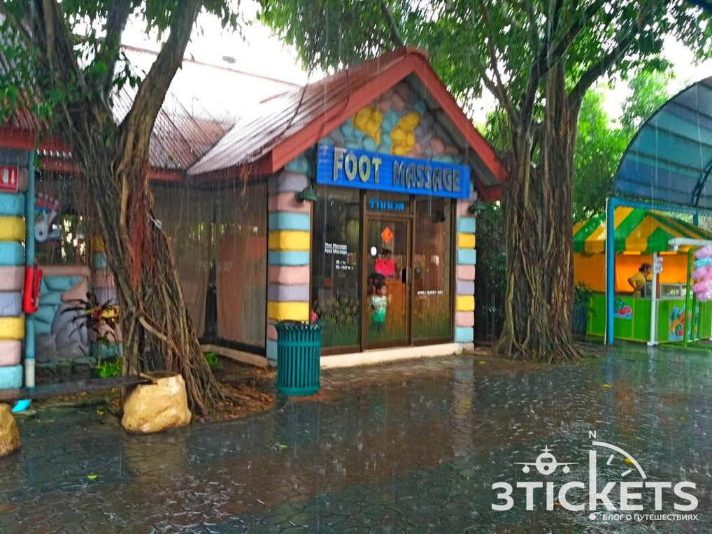 Парк «Дрим Ворлд» в Бангкоке: водные аттракционы