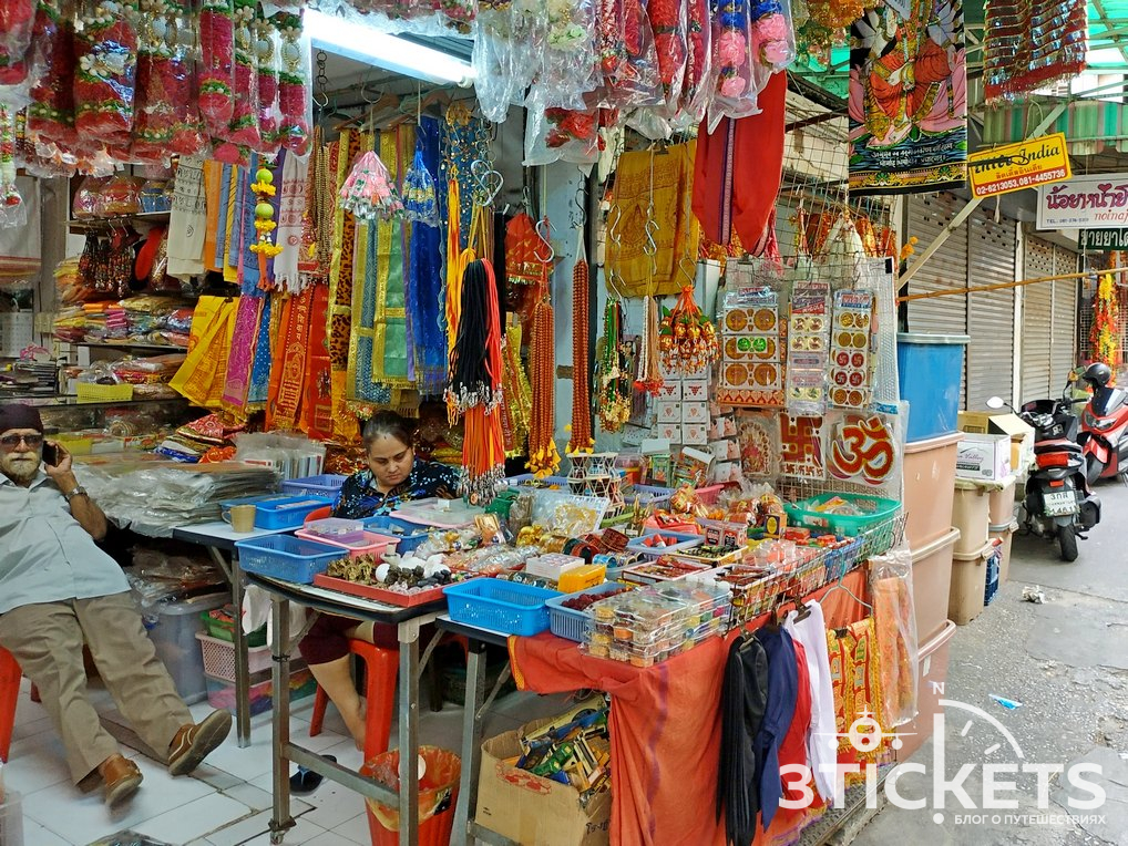 Индийский квартал вБангкоке: наш отзыв и фото, как добраться на карте