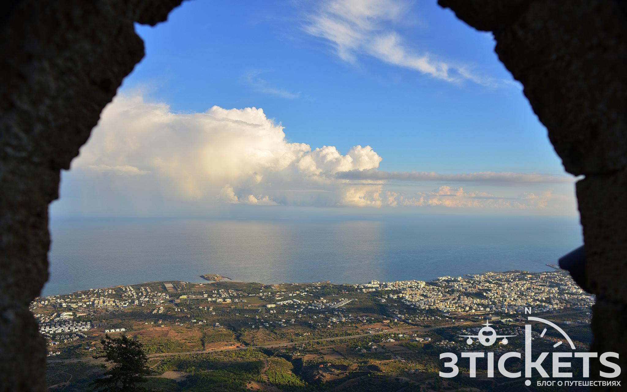Замок Святого Иллариона на Северном Кипре, Кирения