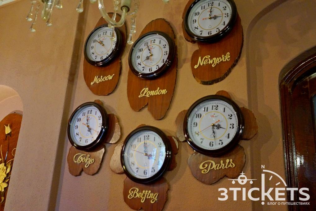 Часовой пояс в Таиланде
