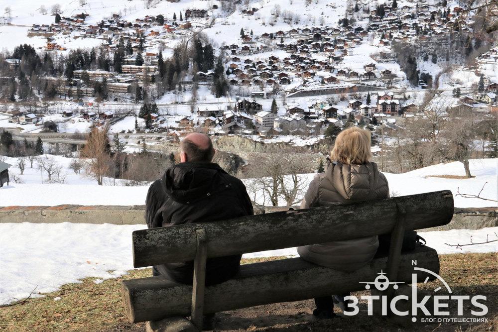 Когда в Альпах нет снега